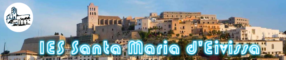 Dalt vila - Logo del IES santa maria d'eivissa